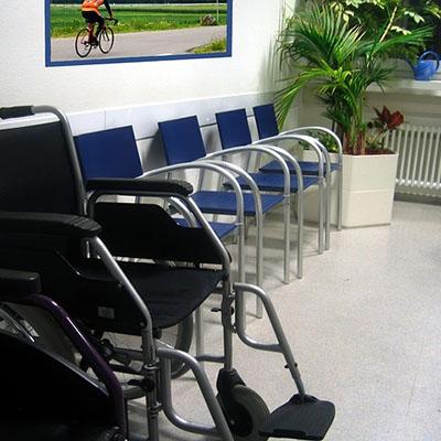 A doctors waiting room